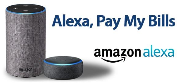 Alexa Bill Pay