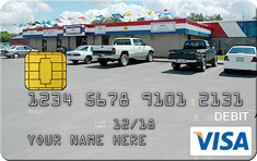 WSB Business Debit By Design Card - Turn your favorite photo of your business into your debit card.